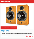 "ATC SCM 11 - What Hi Fi? Sound and Vision Awards 2016 - ""Best standmounter £800-£1500"""