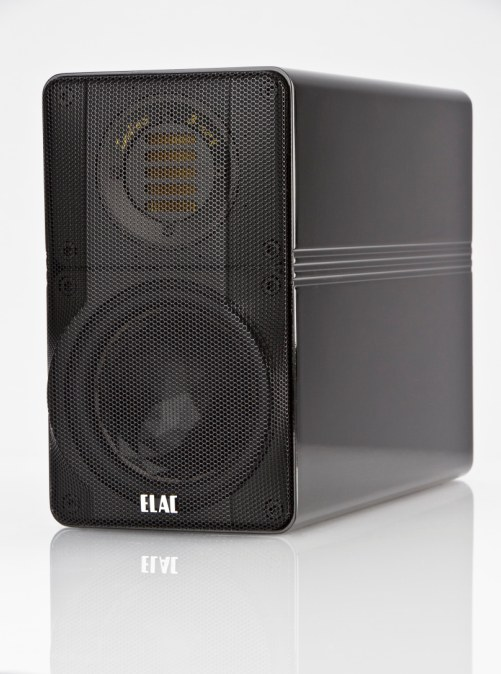 ELAC 310 Indies Black with grille