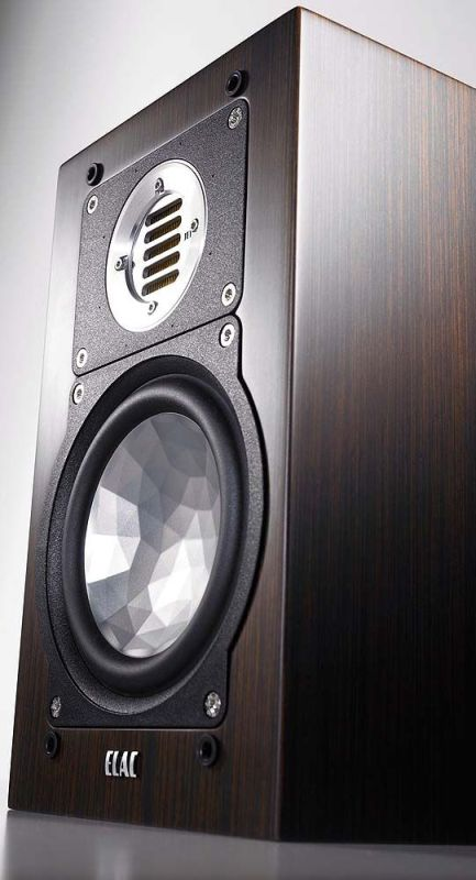 ELAC BS 243 black high gloss