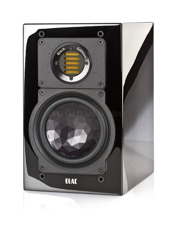 ELAC BS 243 Black Edition black high gloss finish