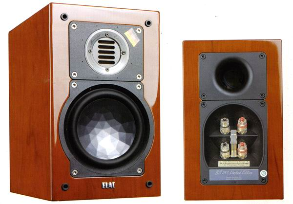 ELAC BS 243 LIMITED EDITION cherry veneer high gloss finish