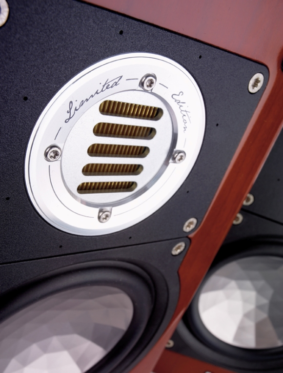 ELAC BS 243 LIMITED EDITION - JET III A.M.T. tweeter
