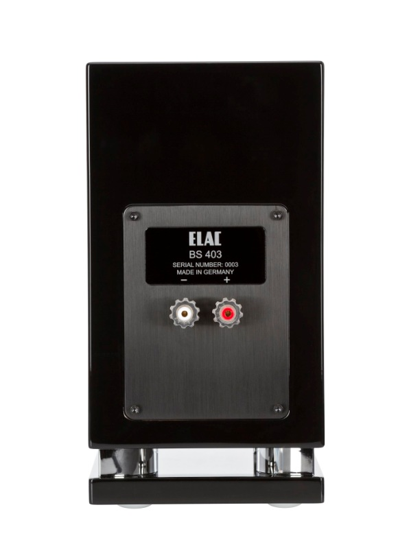 ELAC BS 403 back view
