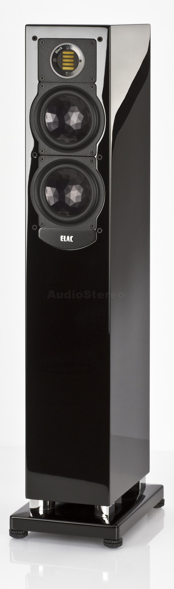 ELAC FS 247 Black Edition black high gloss finish