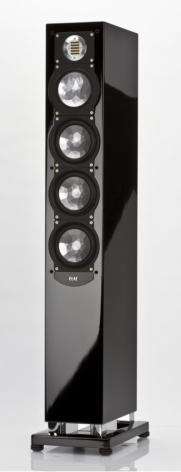 ELAC FS 248 black high gloss