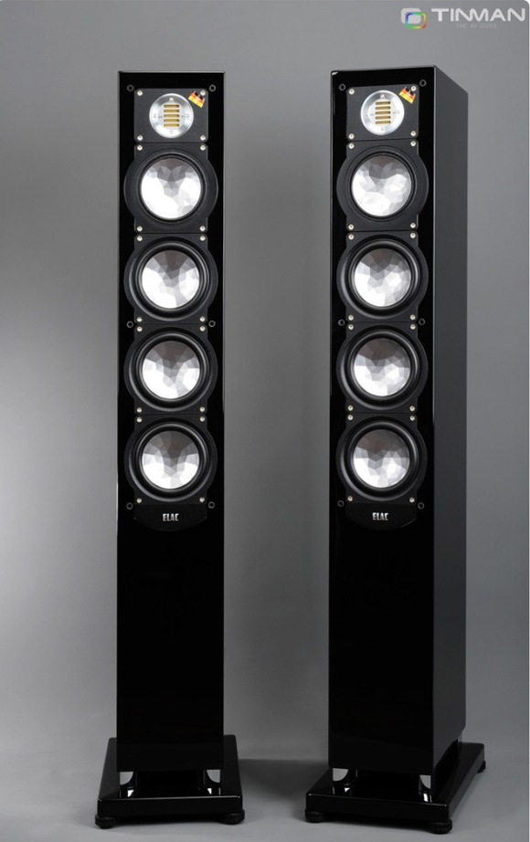 ELAC FS 248 pair black high gloss finish