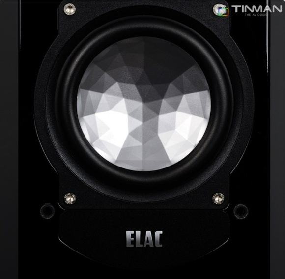 ELAC FS 248 bass detail
