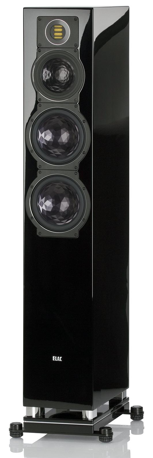 ELAC FS 409 black high gloss finish