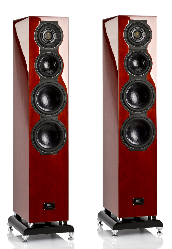 ELAC FS 509 VX-JET cherry high gloss finish