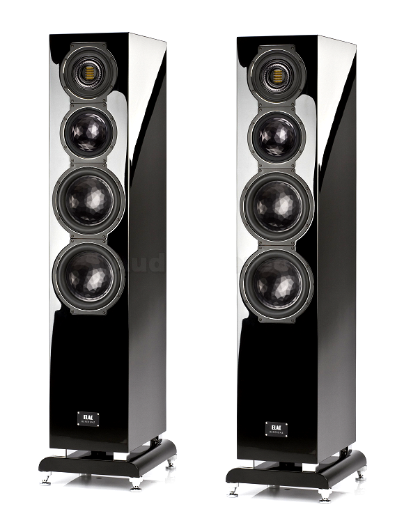 ELAC FS 509 VX-JET black high gloss finish no grilles