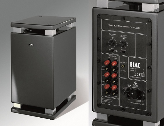 ELAC SUB 2060 ESP titan high gloss finish